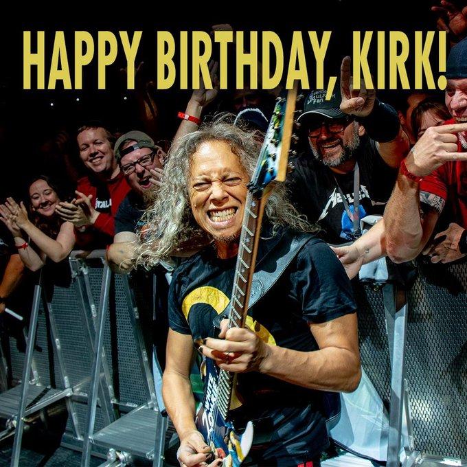 : Happy Birthday, Kirk Hammett!