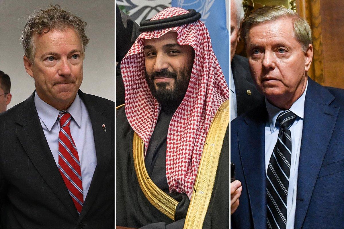 GOP senators believe Saudi crown prince was behind Khashoggi killing https://t.co/MPApdB3808