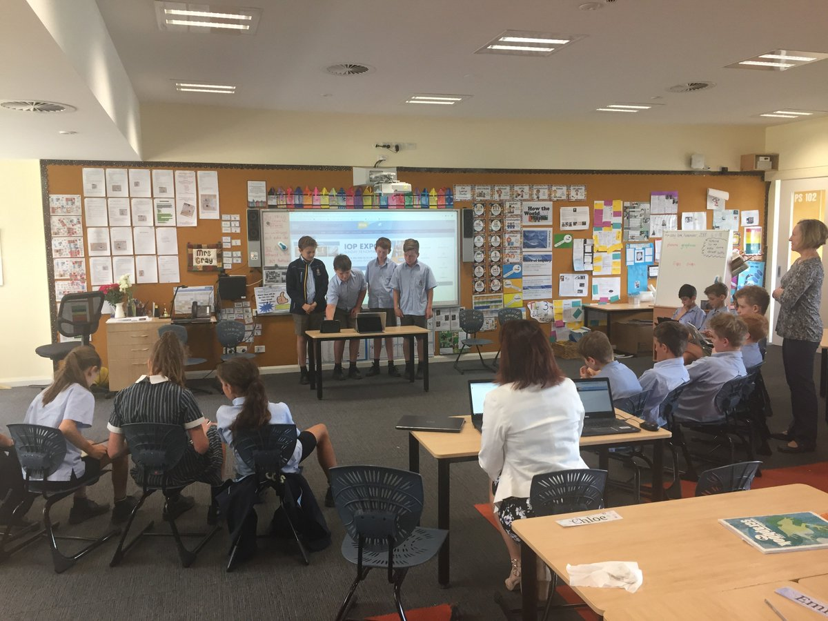 """On Friday, our Yr6 students addressed a """"Shark Tank"""" style panel with their Mini-Fete proposal. We'll have to wait and see what the judges thought..."""
