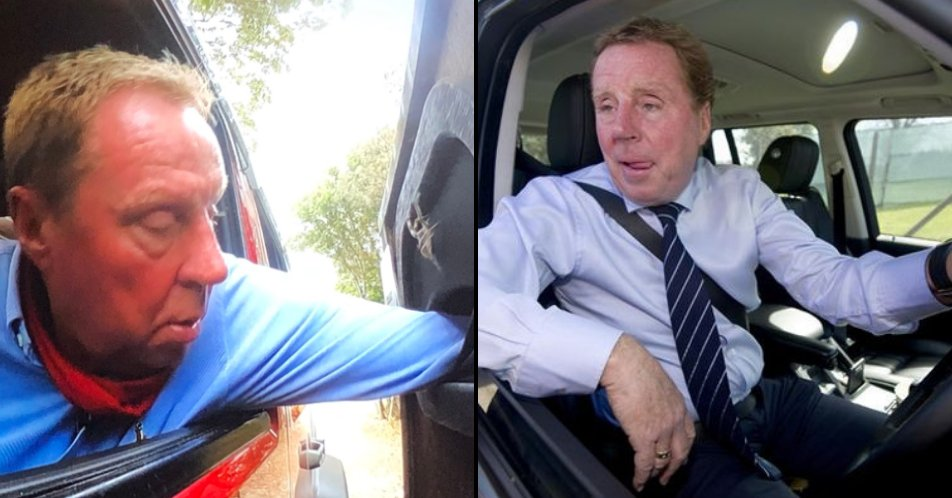 Harry Redkn Leans Out Of Car Window In Imaceleb Trial