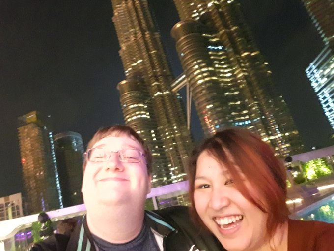 Had a blast at the after party with NiP, teams and crew #kualalumpurmajor and got a picture with the best and sweetest crew member! While one of the most respected Dota2 managers @Cyborgmatt acknowledged my work as a manager 😍 Thank you for making my night special! Goodnight! Фото