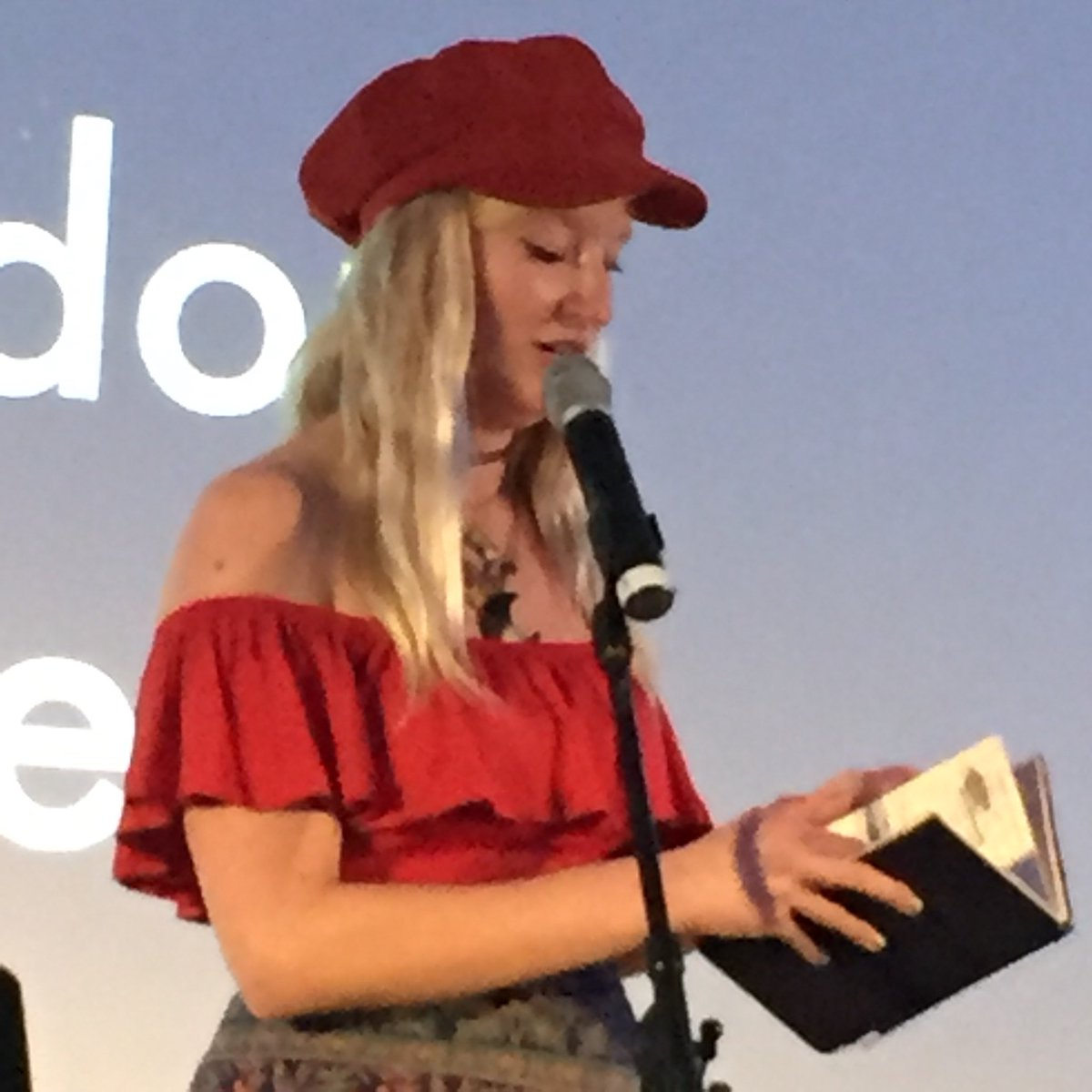 test Twitter Media - Wow! Fantastic SLAMbassadors showcase at King's Place. Thanks to all our amazing young poets and the love and talent of @JTaylorTrash https://t.co/of2IEpzsgv