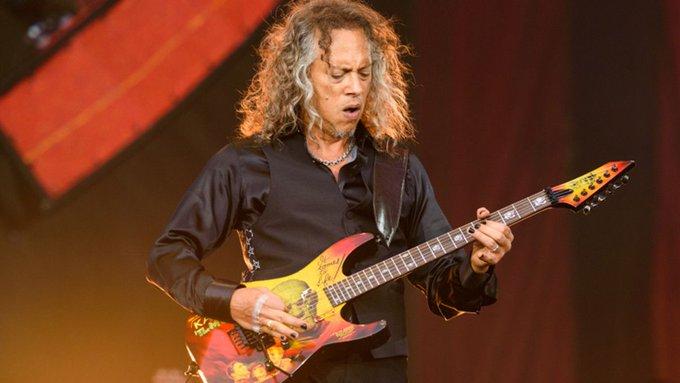 Happy birthday to god Kirk Hammett!