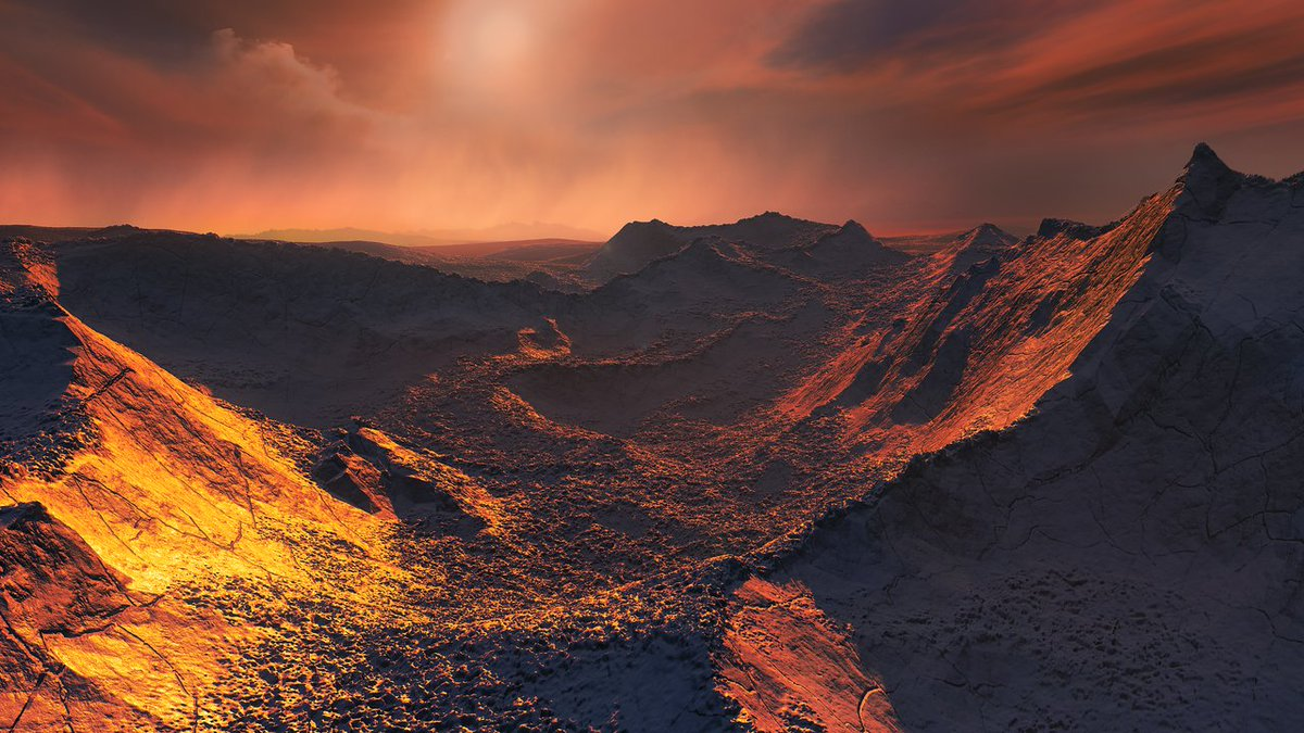 There's a frozen super-Earth orbiting Barnard's star, the second closest star system.  https://t.co/XnYDxyiG89