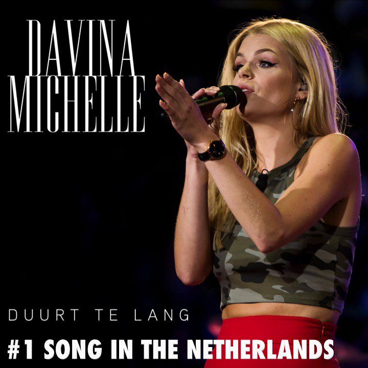 #DavinaMichelle's #Duurttelang scores a 3rd week at N°1 on the Official Dutch Top 100 Singles chart!👏1⃣🎵🇳🇱👩🎤🔥🌟 https://t.co/bRJD4wzHbo