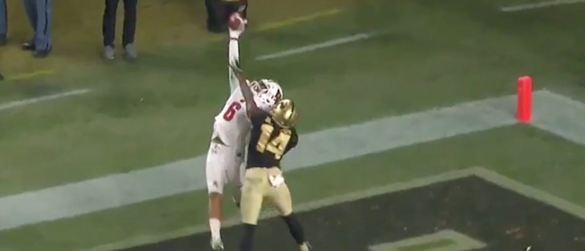 Football Star Makes Insane One-Handed Touchdown Catch. Is It The Greatest TD Ever Scored? https://t.co/HgqblMJNXP