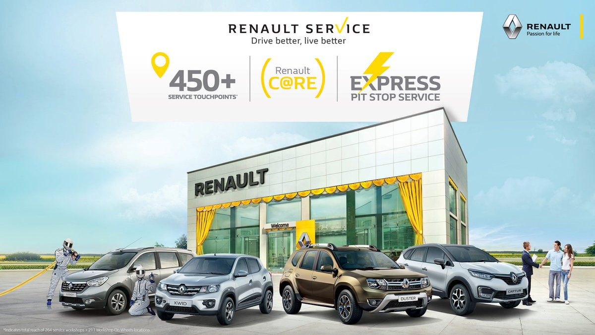 At #Renault, we pride ourselves on keeping our customers happy.To experience exceptional customer service, visit your nearest #Renault service touchpoint today: bit.ly/2EPCzXZ #DriveBetterLiveBetter