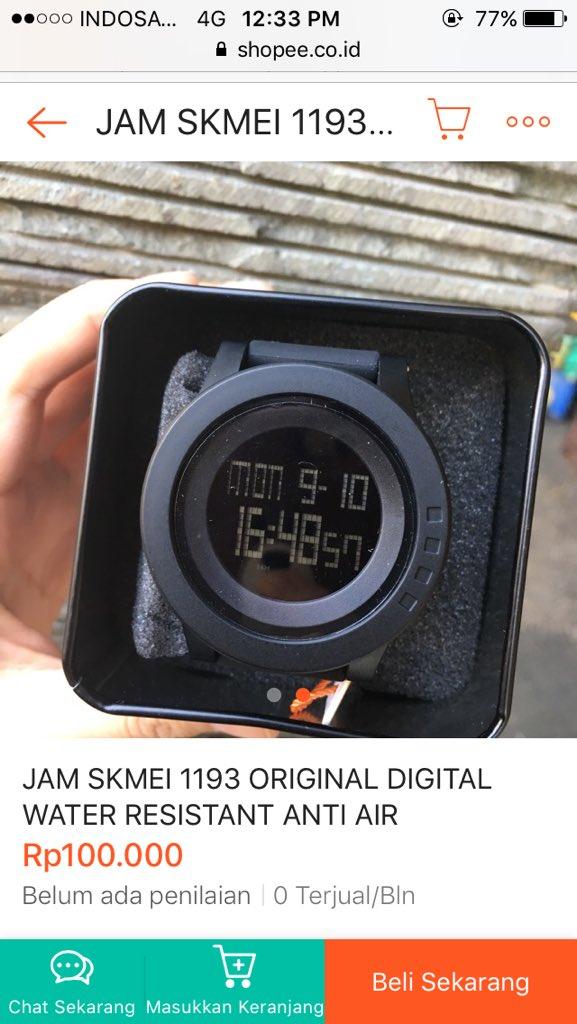 Jam Tangan SKMeI 1193 Hitam Original IDR   100.000 only   shopee link    http   bit.ly 2DLekJ3 IG   http   bit.ly 2OQbzXY WA   http   bit.ly 2zhJQun   skmei ... 726d61adc4