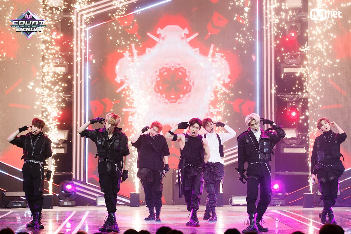 [#MCOUNTDOWN] Ep.596|TOP10 of the week! #MONSTA_X - #ShootOut ♪ World No.1 KPOP Chart Show M COUNTDOWN #Mnet https://t.co/RKJkCGUZoo