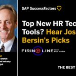 """""""We're in a typhoon of incredible force sucking more and more energy into the HR tech market,"""" says top thought-leader @Josh_Bersin. Find out what it means to you on Firing Line with @BillKutik https://t.co/IE0q0BULMZ"""