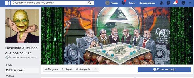 #rosavientos a mí me encantan estas pages de facebook de conspiranoicos que de verdad creen en lo que publican, me mato de la risa Foto
