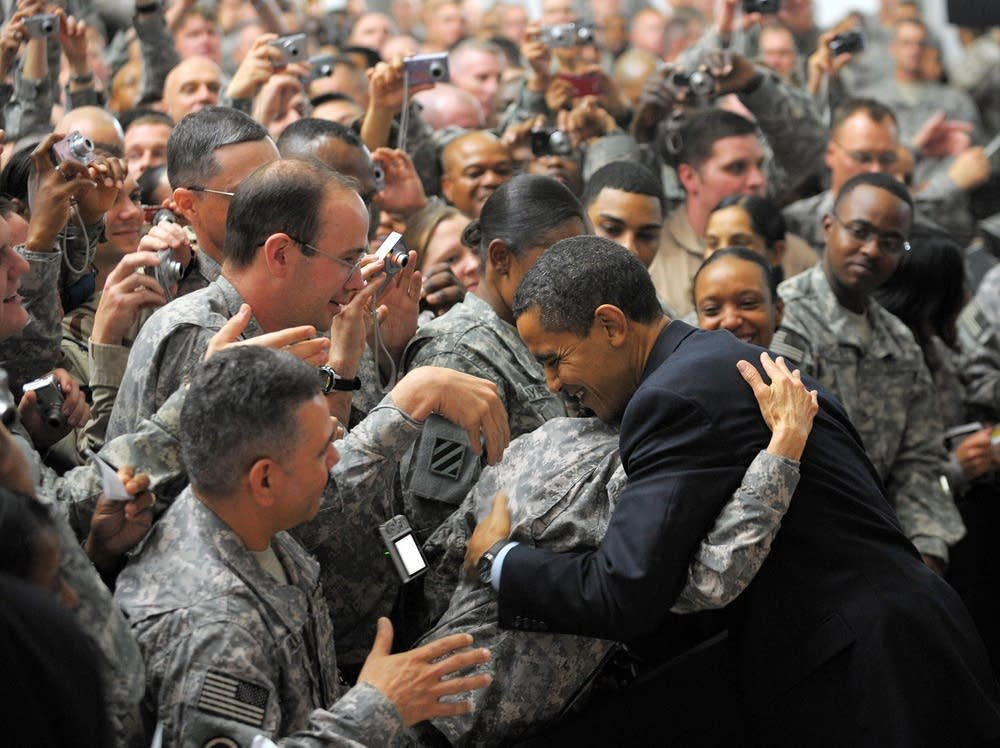 One of the greatest honors when I worked in the WH during the first two years of the Obama Administration was to accompany the Commander-in-Chief when he visited our troops in Iraq and Afghanistan.