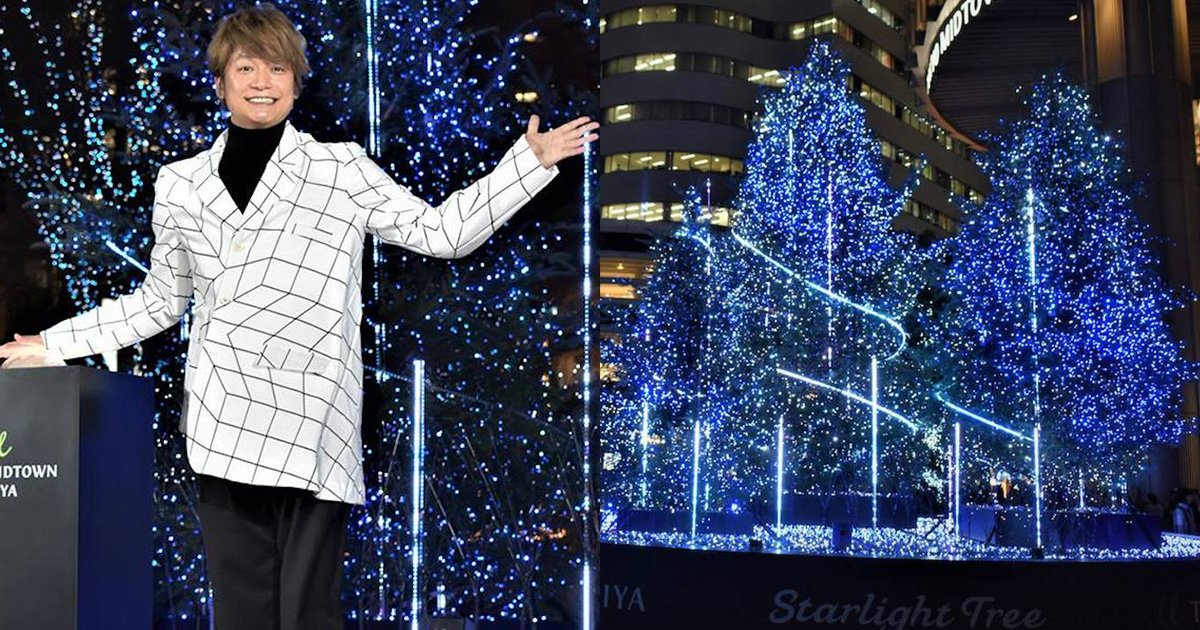 【話題記事】香取慎吾がクリスマスツリー点灯 日比谷エリアでイルミネーションが開始  https://t.co/MP7cr7vDd4   #香取慎吾