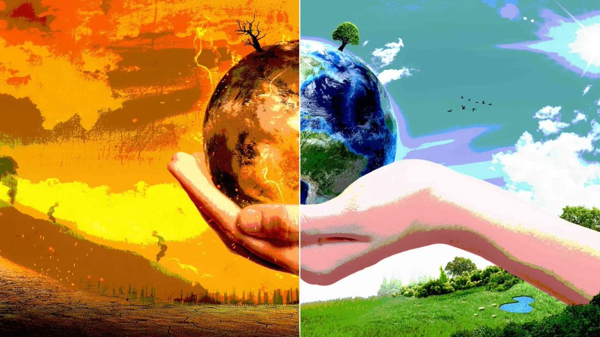 The conversation starts with you because our world's life is in the palms of all of us both figuratively and literally. This our home and let's positively impact it by changing our actions! #environment #openingthediscussion #EM203Robin