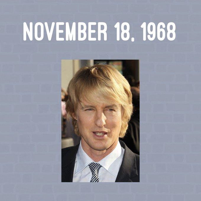 Happy Birthday to Owen Wilson!