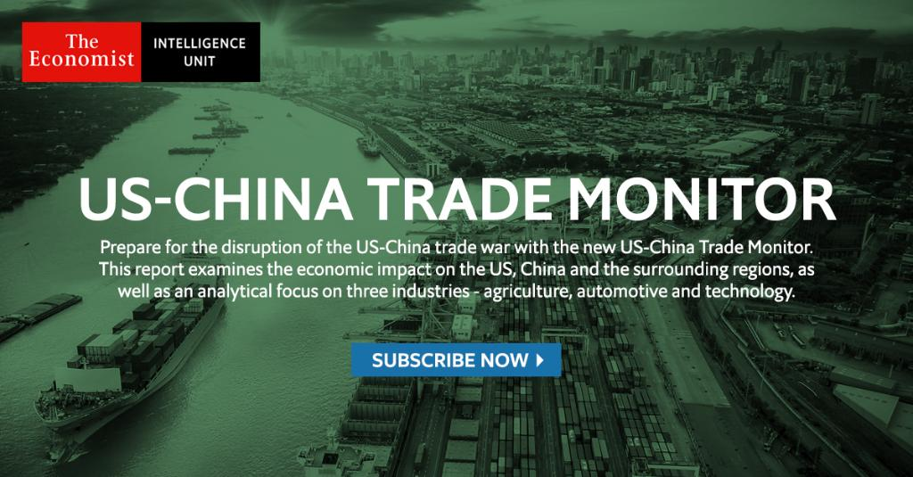 In response to the current era of trade uncertainty, The EIU has put together a new report to help clients understand and navigate the impact of the trade war on both the US and China, as well as surrounding regions. Subscribe now: https://t.co/0Blpssv3oL