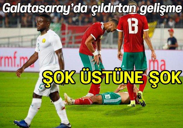 Galatasaray'da Younes Belhanda şoku! Hangi maçları kaçıracak? - https://t.co/Scq6lQdQ0D https://t.co/eaEWr1wt7o