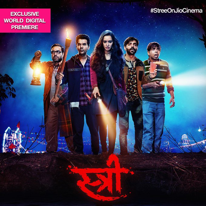Watch #Stree's exclusive World Digital Premiere on @JioCinema: https://t.co/Uat4GXW7oC! #StreeOnJioCinema