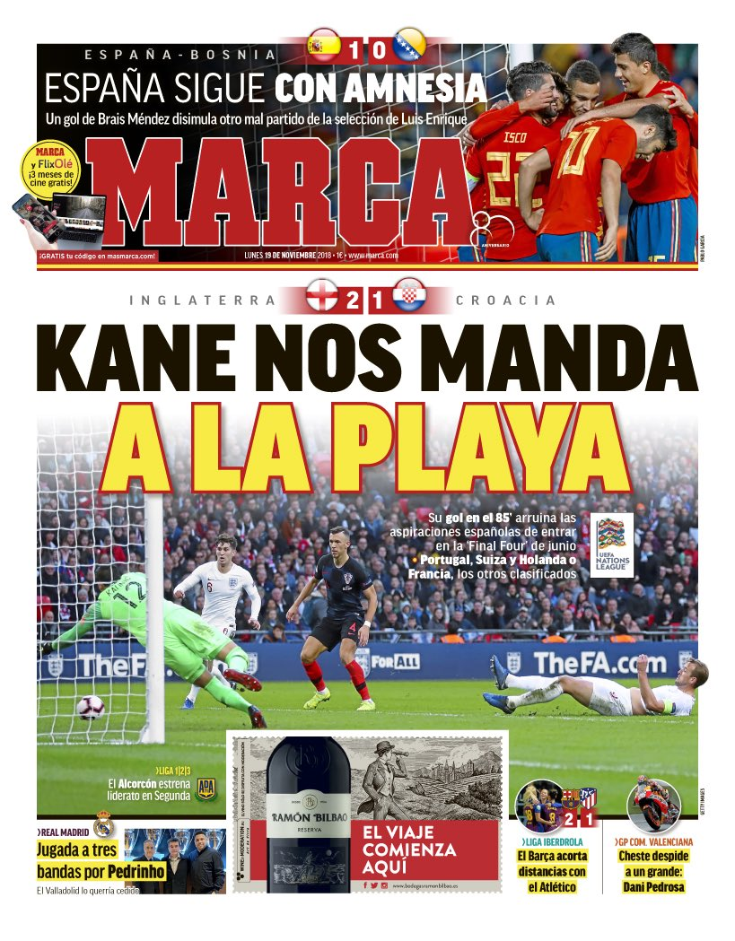 The Spanish Football Podcast's photo on Kane