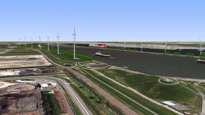 Woensdag kijkje bij bouw Windpark Nieuwe Waterweg https://t.co/fPYQhv0R47 https://t.co/wStR4IAR2u