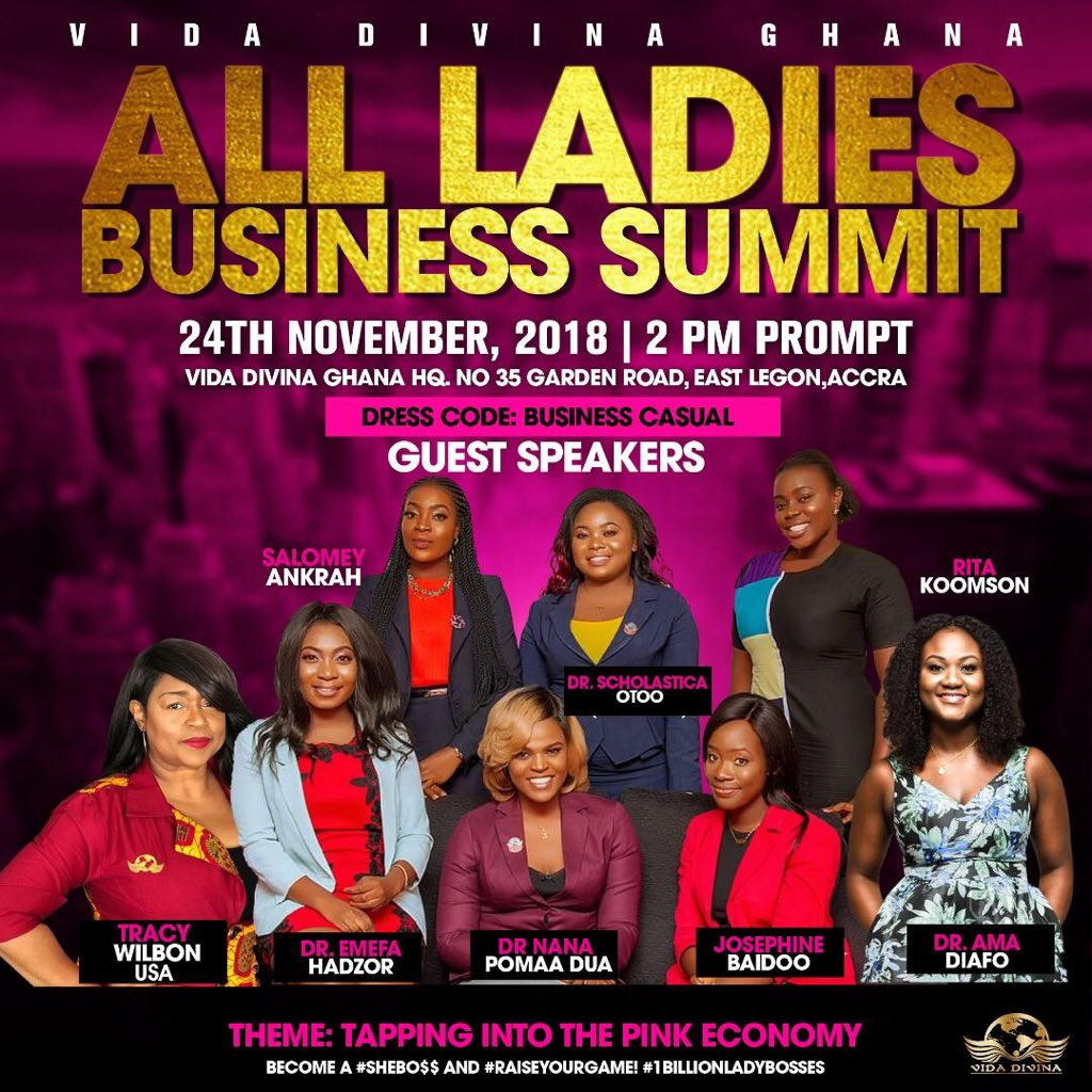 Come let's teach you how to make money for yourself! It's gon be Inspirational,life changing and impactful ! Bring all your fabulous divas. Dm or call 0205879112 for seats! It's FREEEE