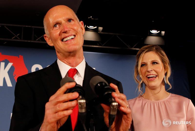 Republican Scott secures Florida U.S. Senate seat following a hand recount of ballots, giving Republicans control of both of the state's Senate seats for the first time since the 19th century https://t.co/P0d2mQchZM by @berniewoodall