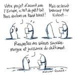 Image for the Tweet beginning: Du sang et des larmes