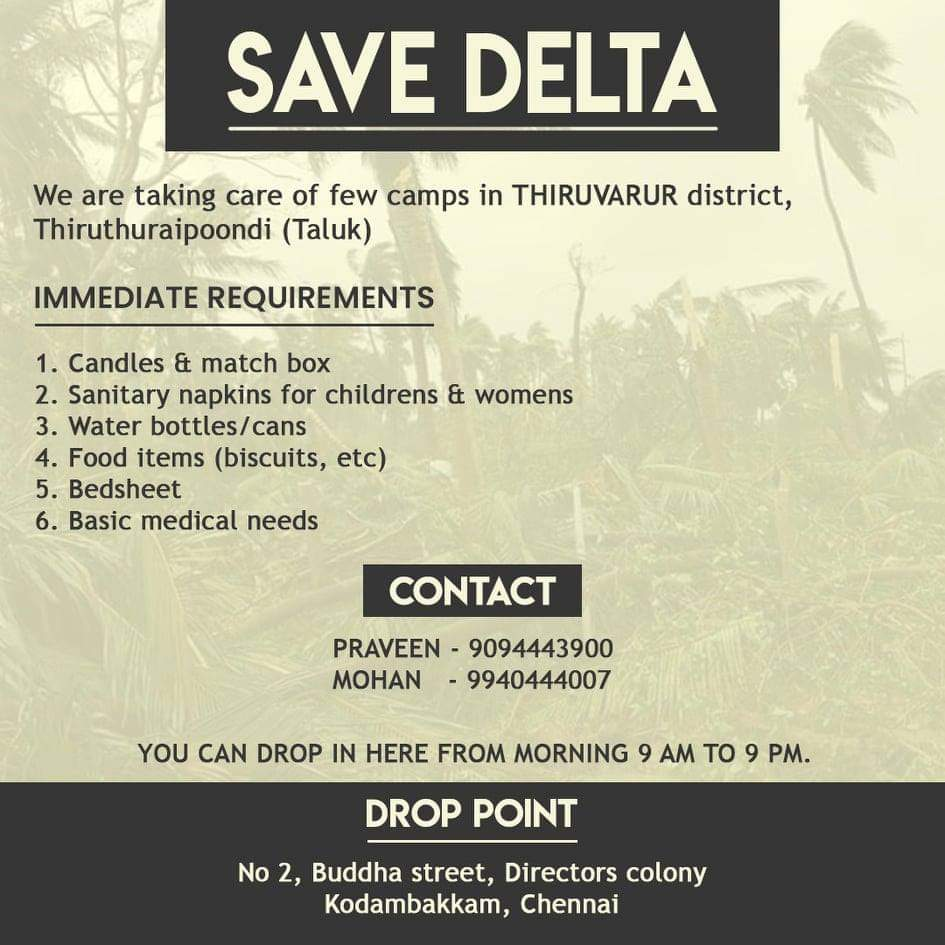 Please help and share more of such information using #SaveDelta .