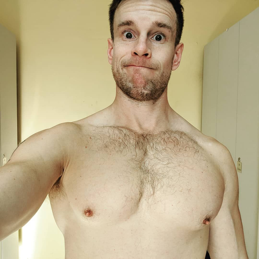 Ditch the man boobs and get healthy