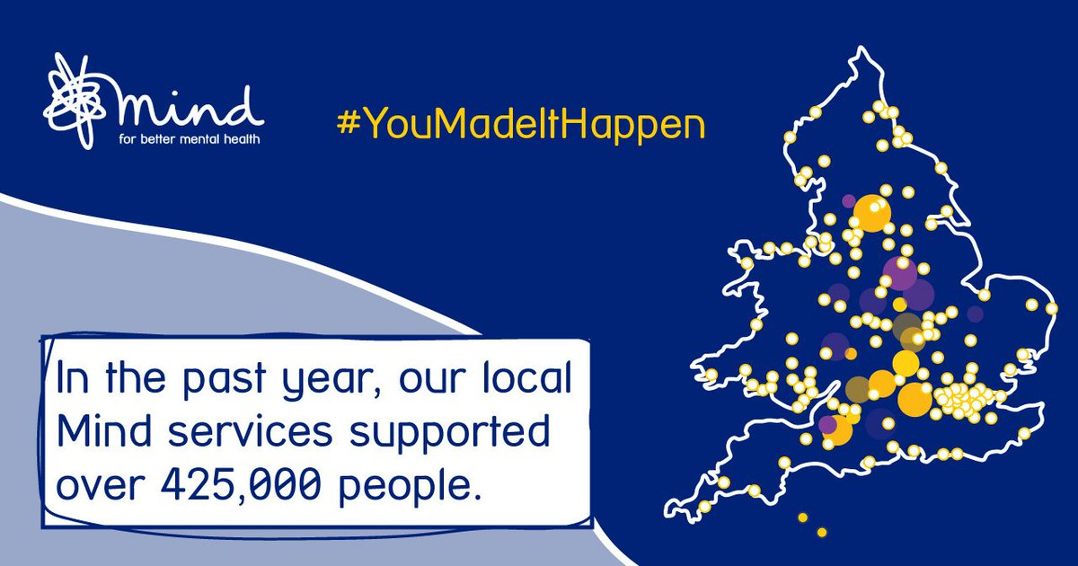Our new annual review shows how we've made a real difference locally and nationally in 2017/18. Read it here > bit.ly/2qIFl5h #YouMadeItHappen