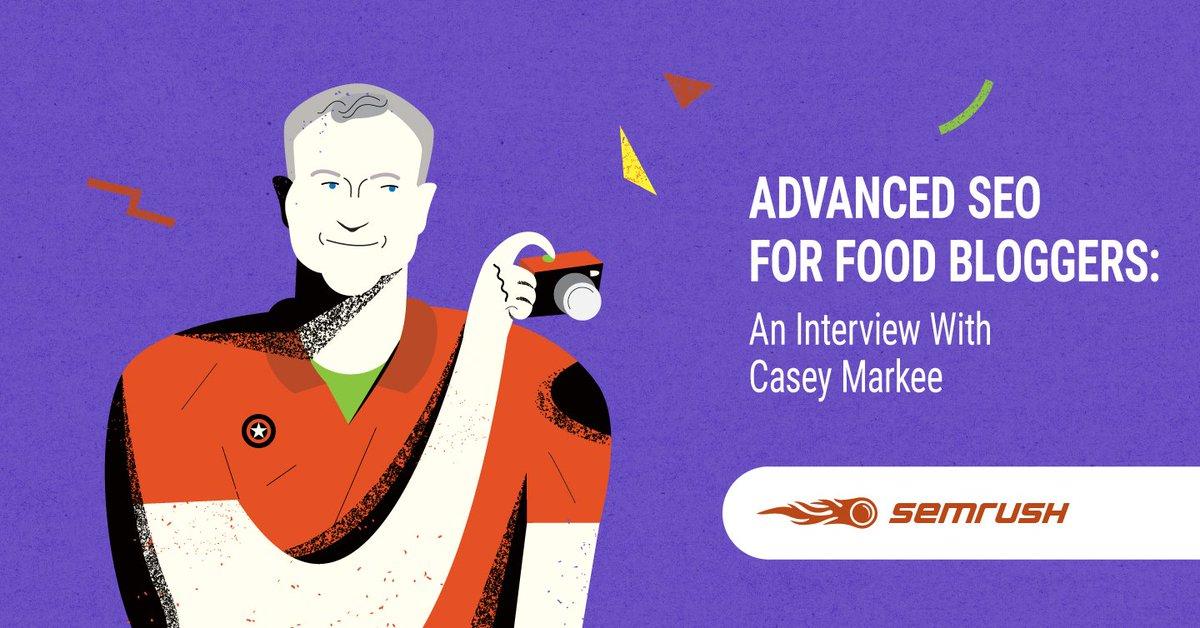 Advanced SEO for Food Bloggers: An Interview With Casey Markee bit.ly/2DLr42l #SEO #DigitalMarketing #SEM #Google #Backlinks