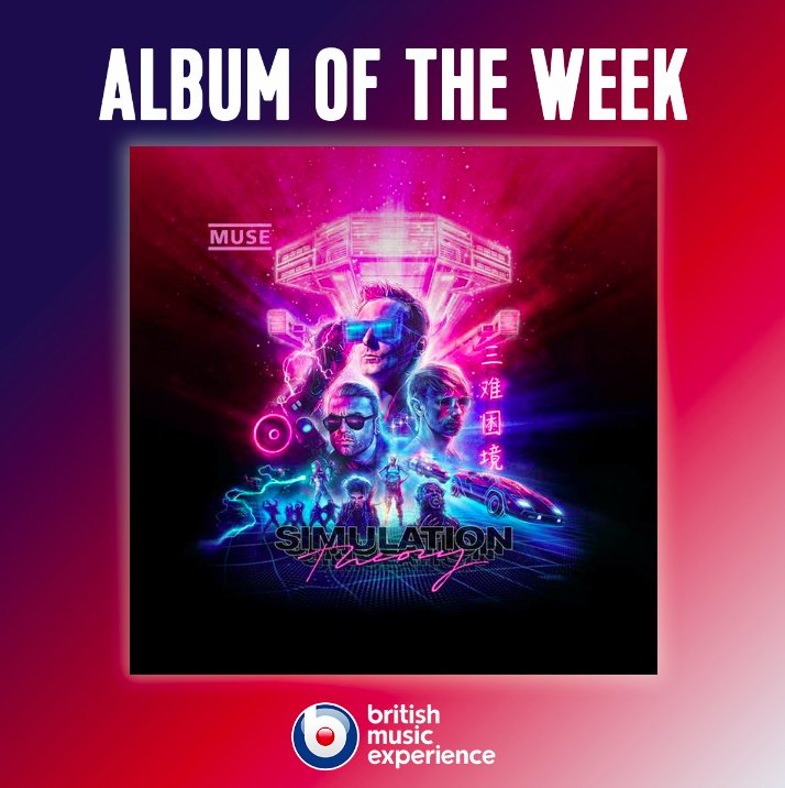 Our Album of the Week is bought to you by @muse 🤘  Listen here 👉 https://t.co/HMAjg8WGXK #SimulationTheory https://t.co/tYXeL5m3CZ