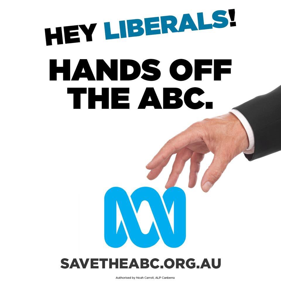 As media ownership becomes more concentrated, it's never been more important to protect our independent national broadcaster.