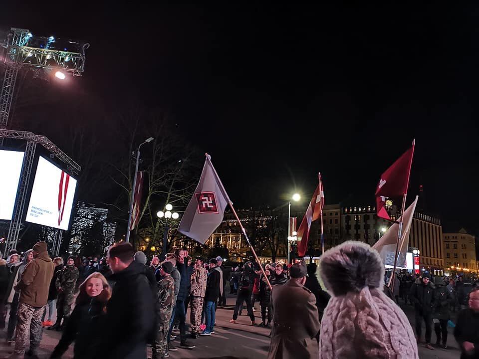 Празднование 100-летия Латвии