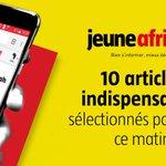 Image for the Tweet beginning: Les infos du matin :