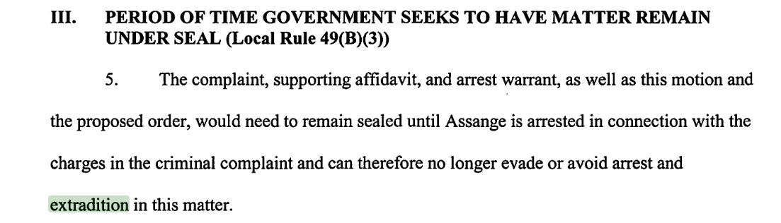 Did UK Foreign Secretary Hunt knowingly seek to mislead the public when he said WikiLeaks publisher Julian Assange was 'free to walk outside'? US laid secret charges against Assange seeking his extradition. How long has the UK government knowingly been trying to fool the public?