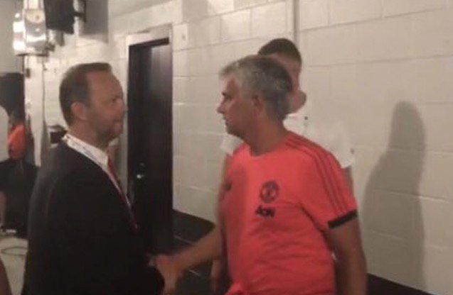 Man Utd chief Ed Woodward ready to make new appointment - and Jose Mourinhos already let him in the dressing room mirror.co.uk/sport/football…