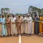 Image for the Tweet beginning: Le Président @Macky_Sall a inauguré