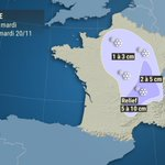 Image for the Tweet beginning: Épisode de #neige en plaine