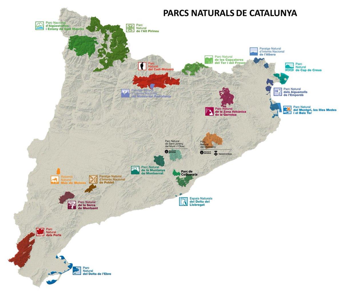 Resultat d'imatges de parcs naturals catalunya