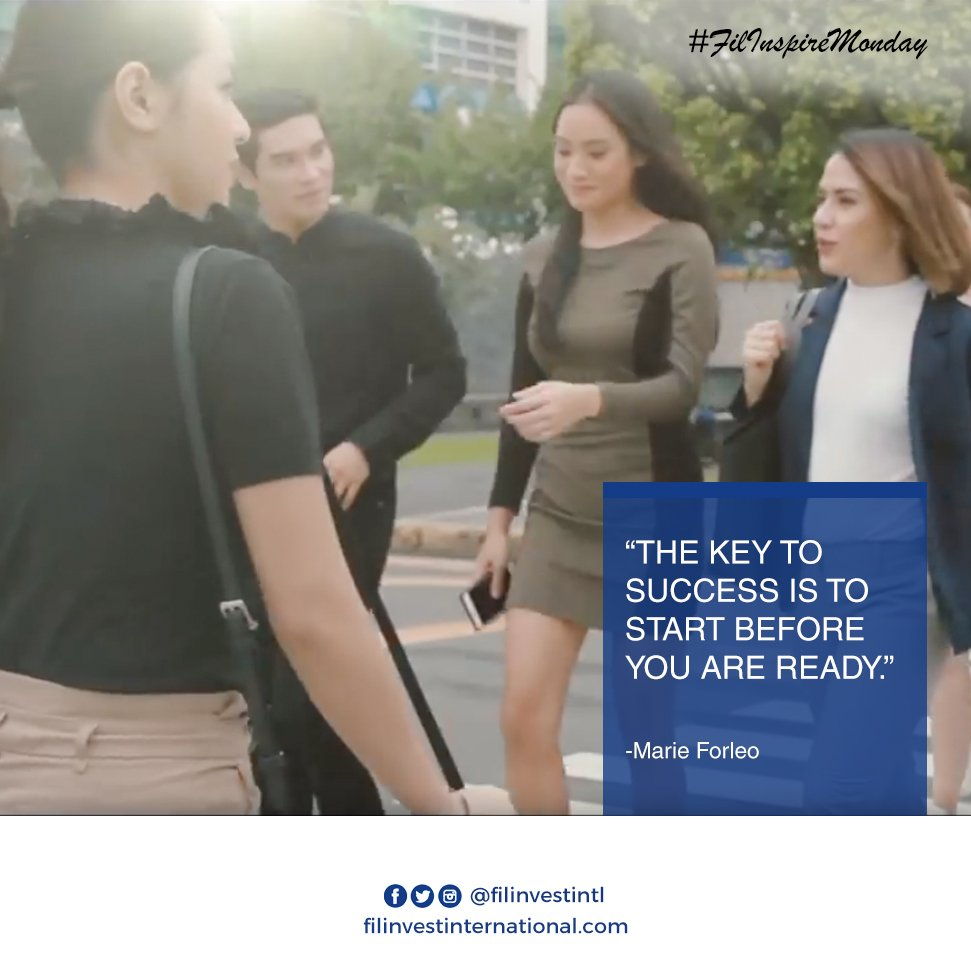 Hi kabayan!  The key to success is to start before you are ready!  #FilinveStories #InvestmentTips #HappyFilinvestor https://t.co/m1jJkLH1s9