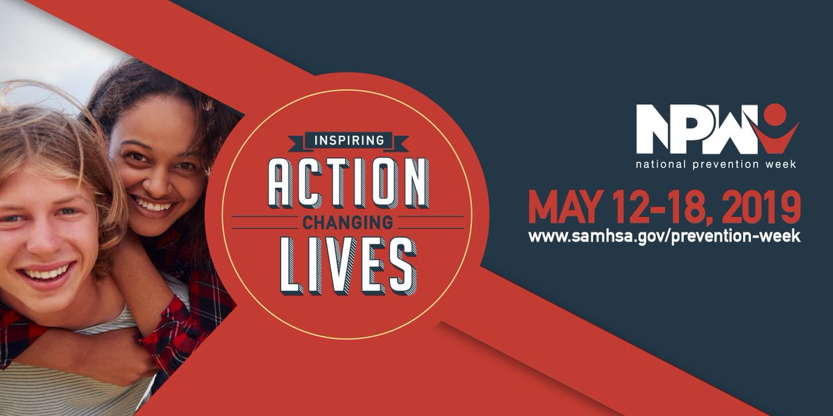 SAMHSA s National Prevention Week (NPW) will take place May 12 489d9f339