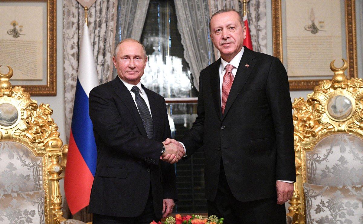 #Стамбул: Встреча с Президентом Турции Реджепом Тайипом Эрдоганом https://t.co/wpuEYFTXgM