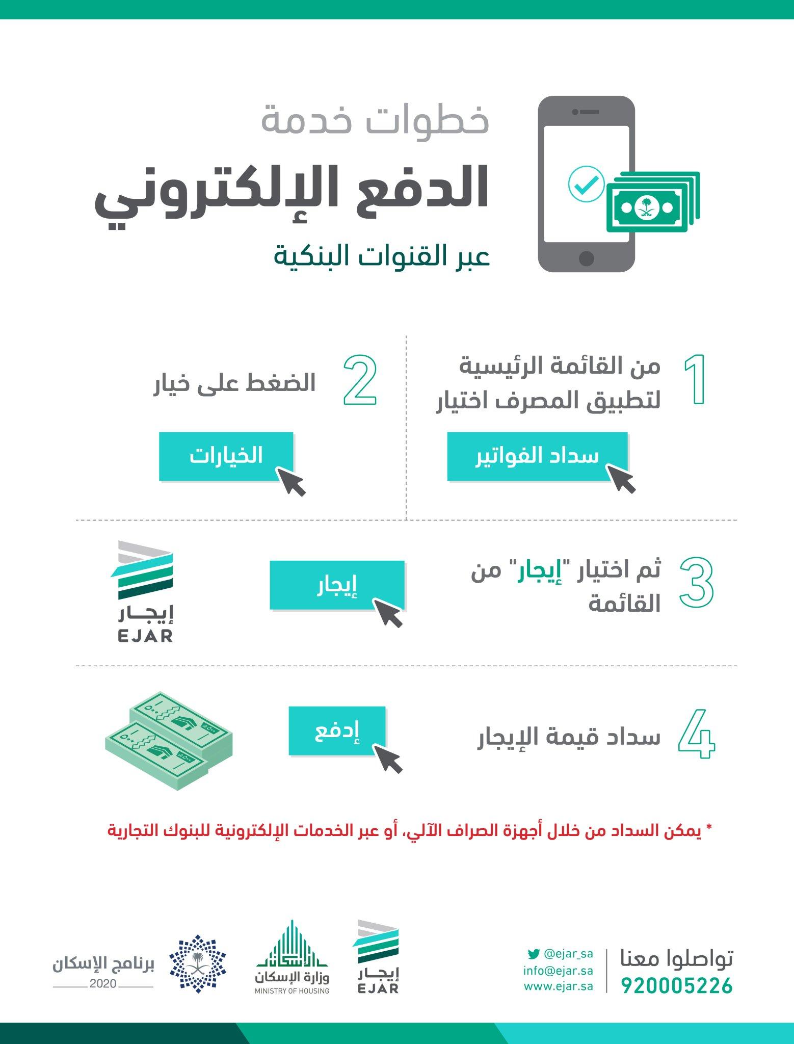 إيجار Twitterren إيجار أول تحو ل ت سهل قنوات الدفع الإلكترونية على المستأجر سداد قيمة دفعات الإيجار