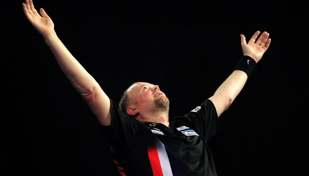 BREAKING NEWS: Raymond van Barneveld announces he plans to retire after the 2019-20 World Darts Championship.  Legend.