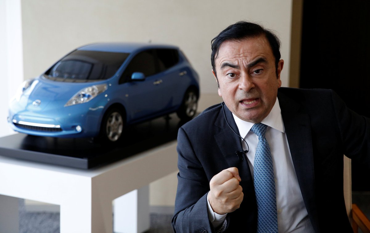 Ex-CEO e presidente do conselho da Nissan, Carlos Ghosn, é preso no Japão https://t.co/TYFZJ0r9zz #G1