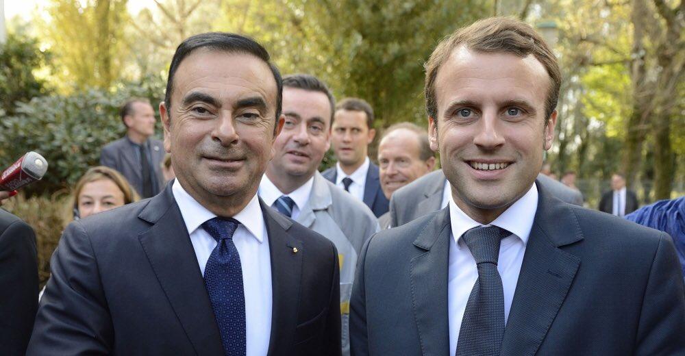 ⚡️FLASH Affaire Carlos Ghosn : déclaration d'@EmmanuelMacron   «Pour le bien de la France il vaut mieux un homme en costume qui fraude le fisc qu'un homme en gilet jaune qui bloque les routes.»