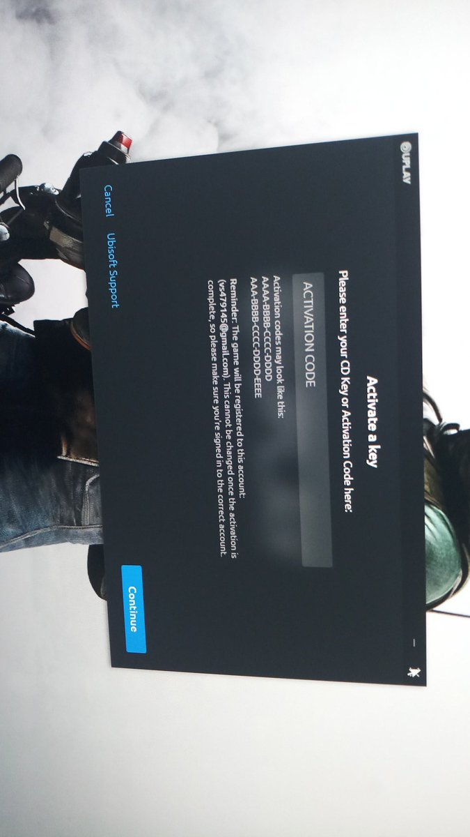 this cd key or activation code has been banned uplay