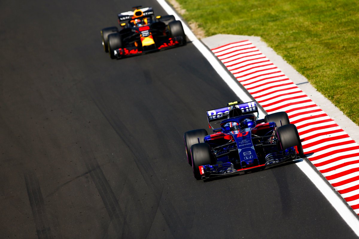 Red Bull's decision to take @HondaRacingF1 power for 2019 surprised many  But positive signs from the Honda camp are giving the team plenty to smile about, as the end of the season approaches >> http://f1.com/RB-Honda-Partnership…