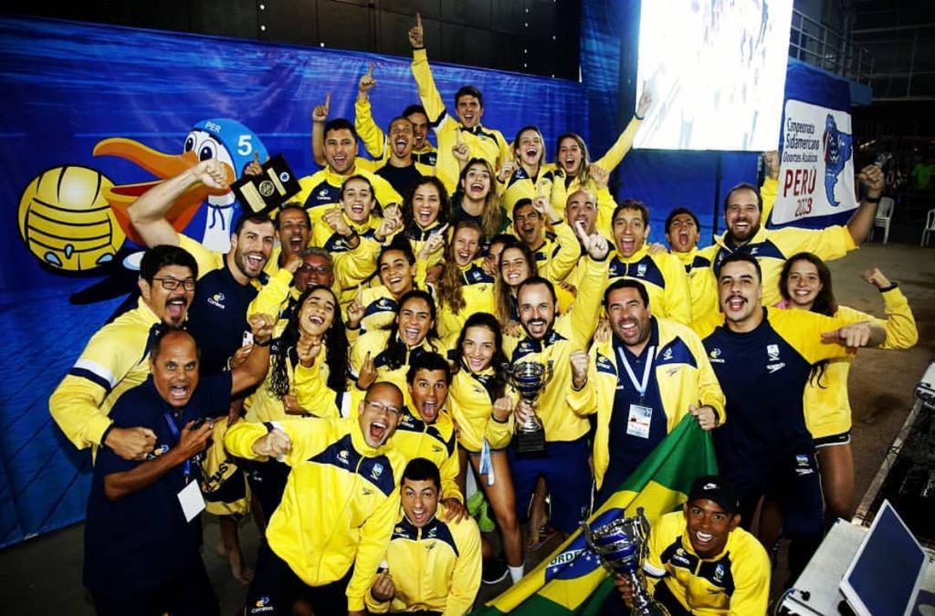 Nossos nadadores conquistaram 8 medalhas no CAMPEONATO SUL-AMERICANO DE DESPORTOS AQUÁTICOS, realizado em Trujillo-Peru. Parabéns a todos os atletas. #BraçoForte